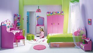 ديكورات غرف نوم اطفال جديدة بالوان جميلة