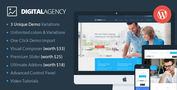 Digital Agency Website Theme