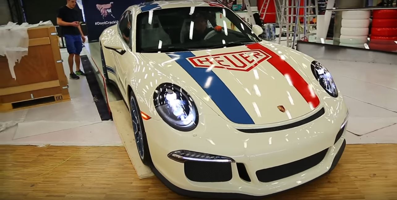 Tag Heuer Porsche 911R 1 of 1 Captured On Video Before Debut