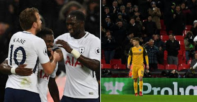 Tottenham Hotspur vs Brighton & Hove Albion 2-0 Video Gol & Highlights
