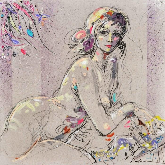 цветочные женщины