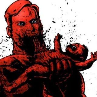 Capitão Pátria come um bebê vivo na HQ de The Boys
