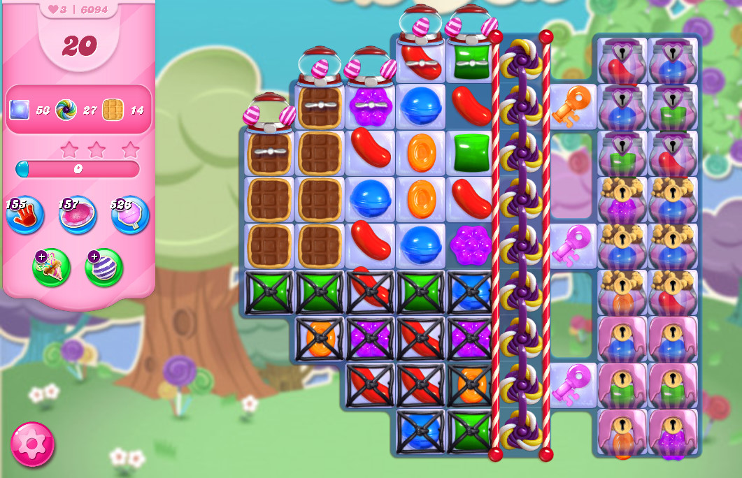 Candy Crush Saga level 6094