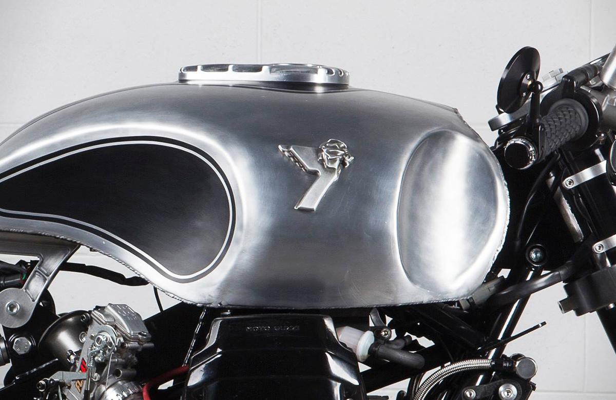 the revenge - moto guzzi v11 cafe racer ~ return of the cafe racers