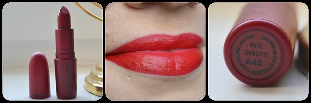 Mac Cosmetics Swatch Tragebild Giambattista Valli Charlotte