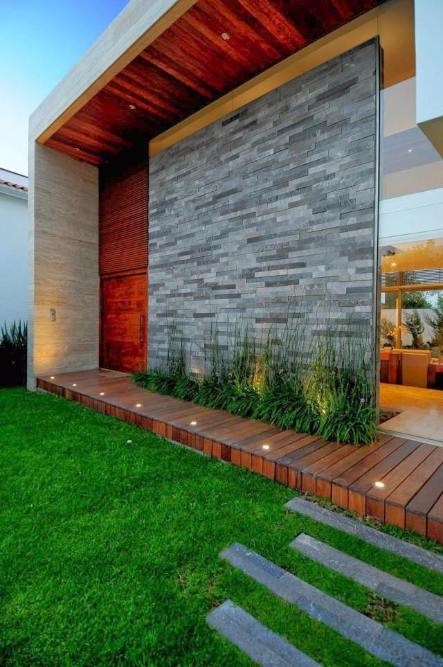 Fachadas de piedra fachadas de casas con piedras y lajas for Fachadas de casas modernas con piedra