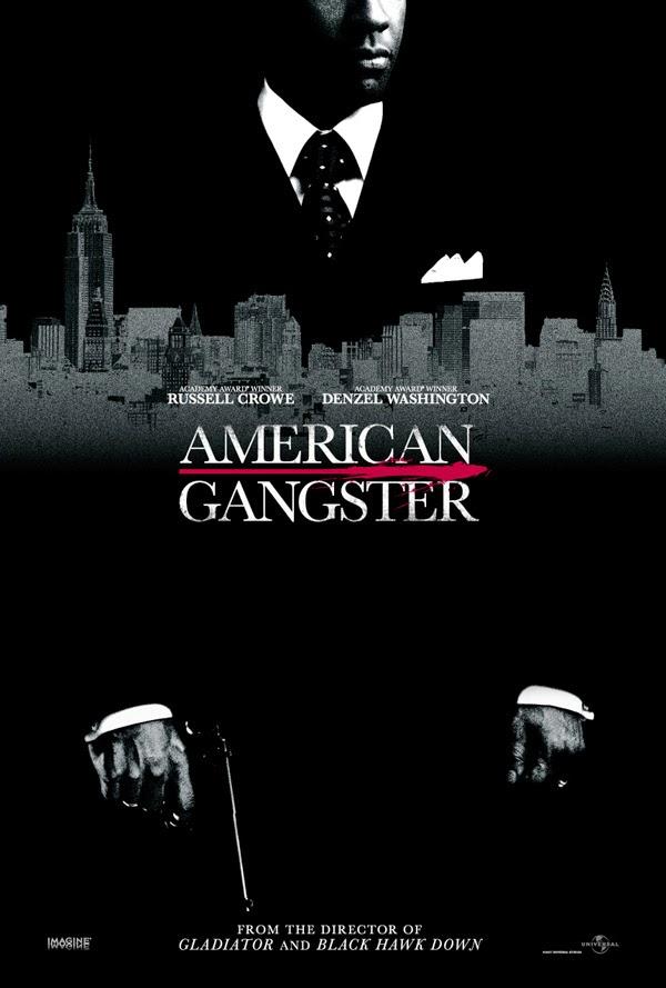 american gangster recenzja filmu plakat denzel wahsington