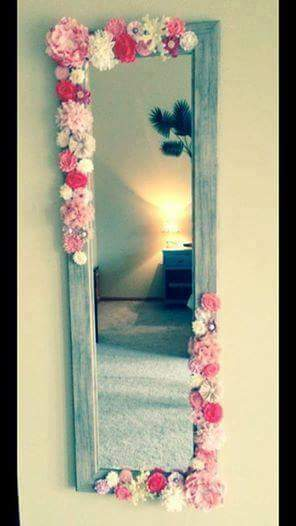 Ideas Originales Para Decorar Espejos Decoración Del Hogar