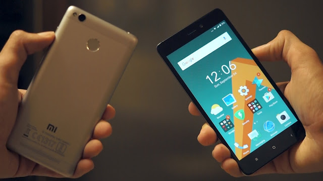 Cara Mengambil Screenshot di Xiaomi Redmi 3S Prime