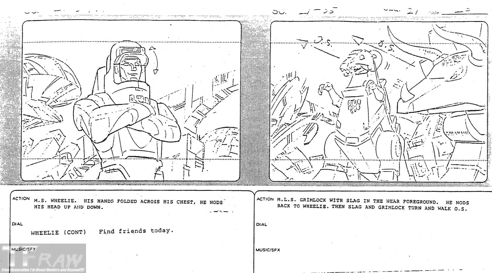 TF RAW!!!! Transformers Media Archive: Sequence 21