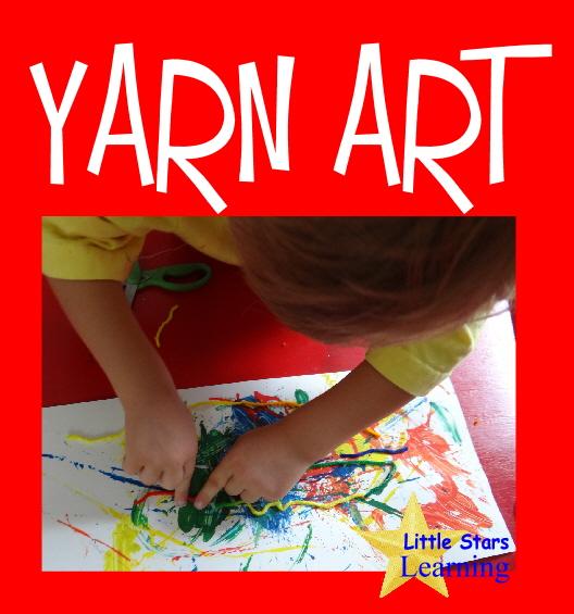 yarn painting preschool - photo #25