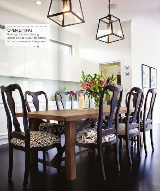 Modern Traditional Dining Room: Designing Home: 5 Ways To Add Interest To A Dining Room