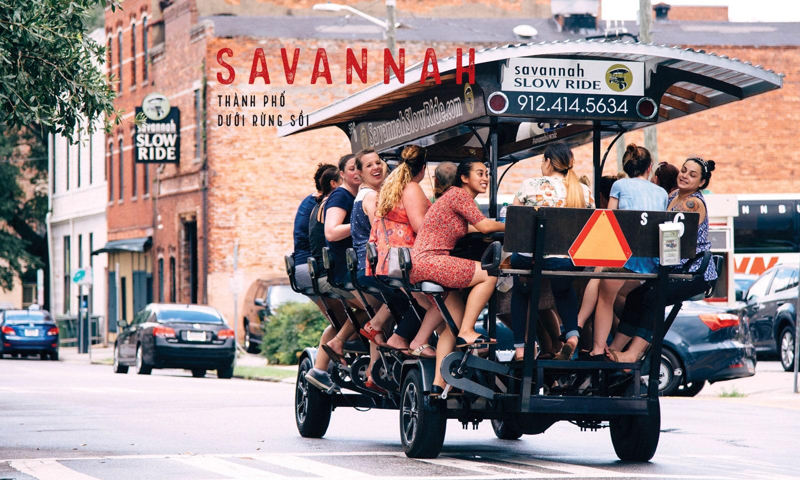 Savannah - thành phố bí ẩn dưới rừng sồi
