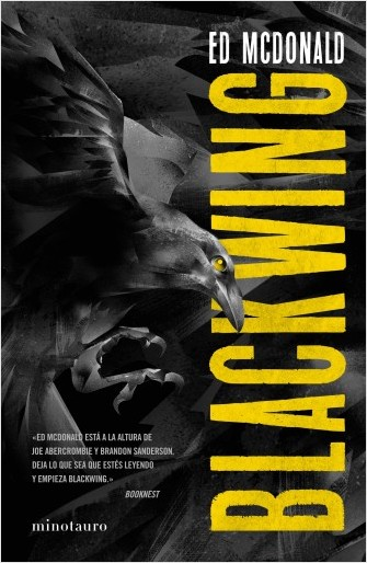Blackwing, la novela grimdark de Ed McDonald