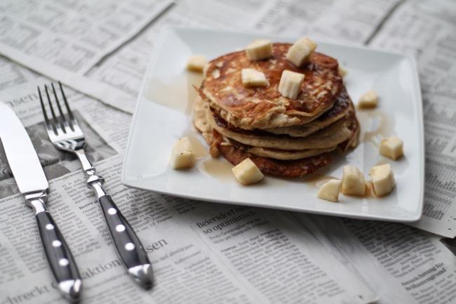 Gesunde Frühstücksrezepte / Ideen fuer das Fruehstuck / Lecker fruehstuecken / Porridge / Topfen / #svetlanakocht / Proteinrolle / Kaiserschmmaarn / Pancakes