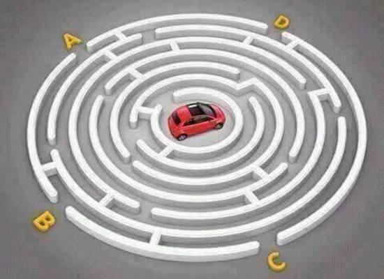 Car Maze Riddle