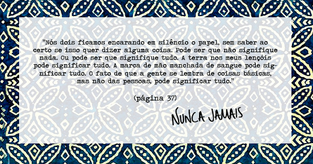 Joana leu: Nunca jamais, Colleen Hoover