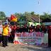 Warga Klaten Serentak Gelar Jalan Sehat 72 Indonesia Merdeka.