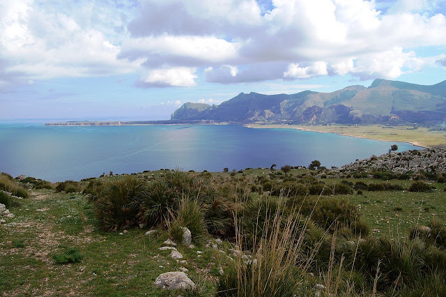 The Monte Cofano nature reserve, sicily, italy