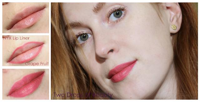 nyx lip liner макияж губ