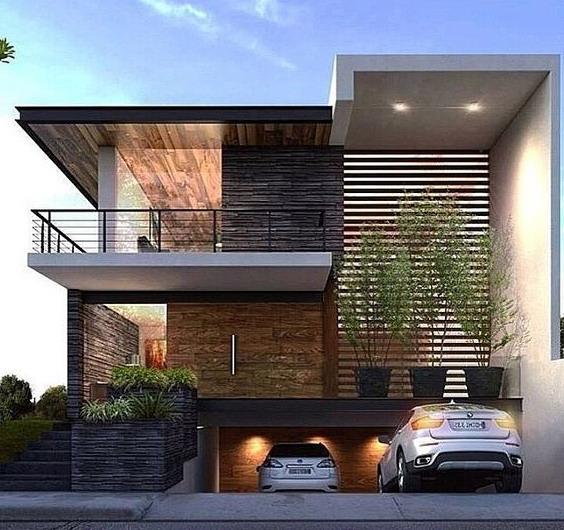 desain rumah minimalis 2 lantai dengan basement
