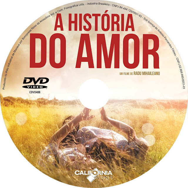Label DVD A História do Amor [Exclusiva]