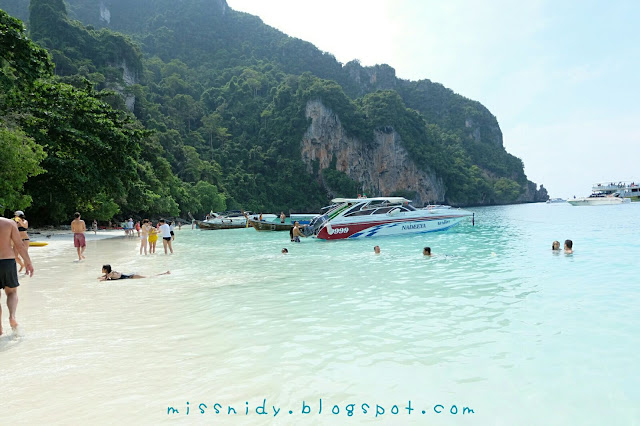 monkey beach phiphi island