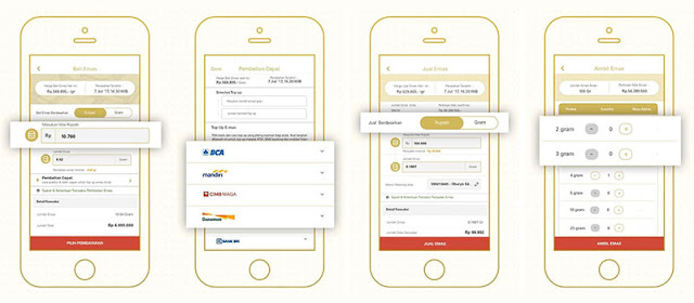 Platform Inventasi Emas Digital E-mas
