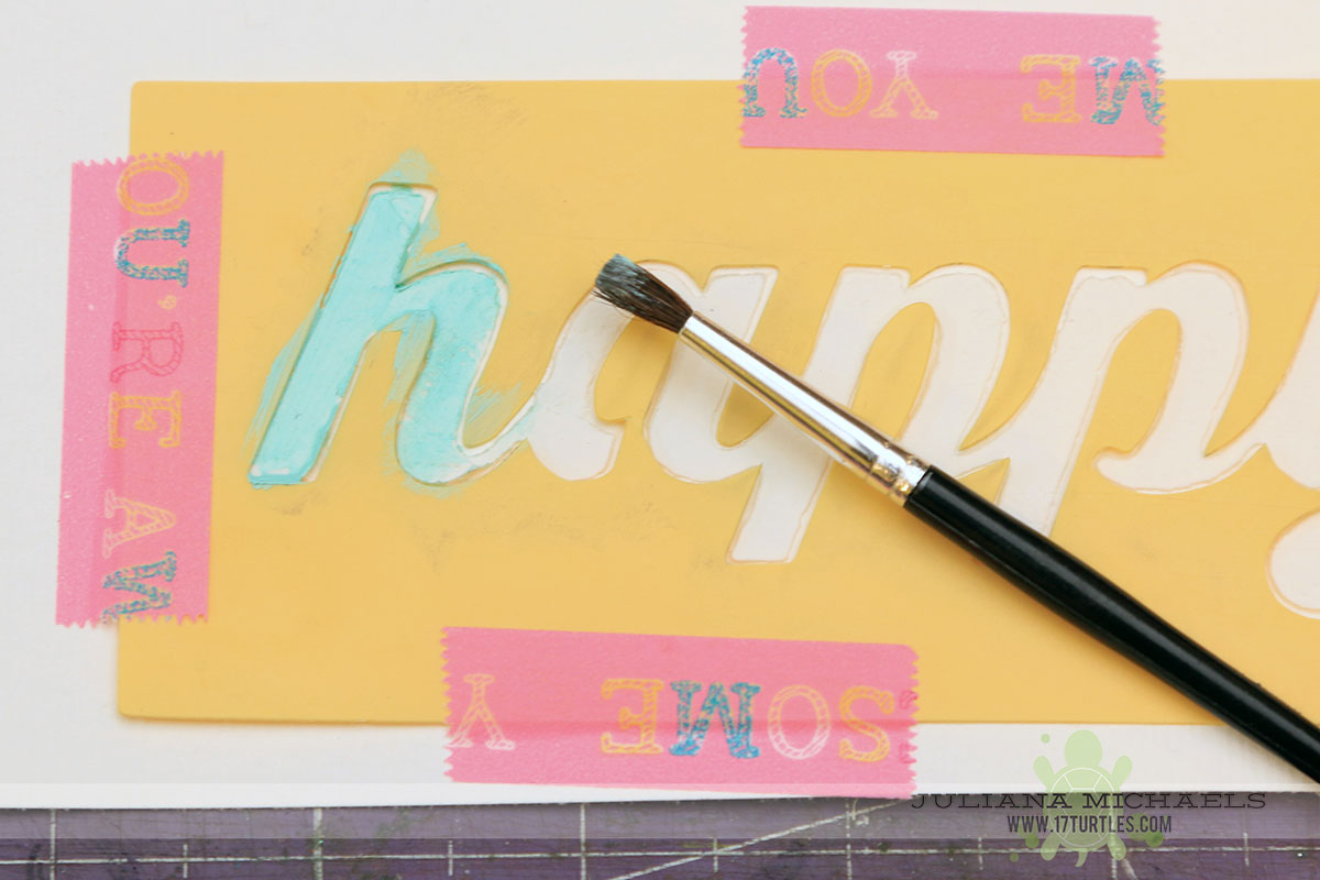 Jillibean Soup Happy Hues & Stencils Tutorial - 17turtles
