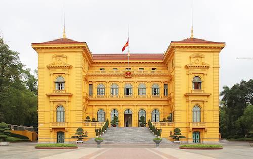 Phủ chủ tịch, nơi làm việc của Chủ tịch nước