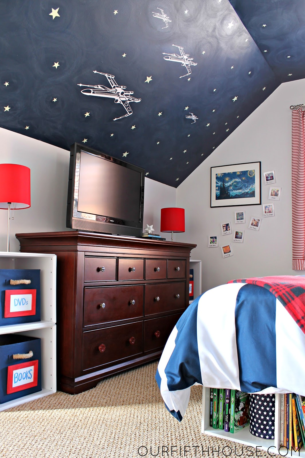 My Star Wars Loving Boy\'s Bedroom - Our Fifth House