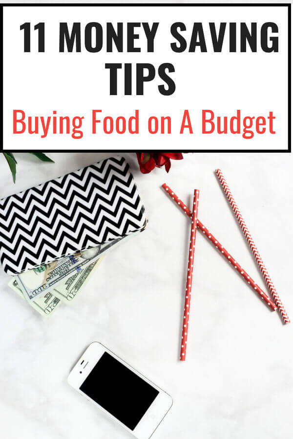 Money Saving Tips - Buying Food on a Budget