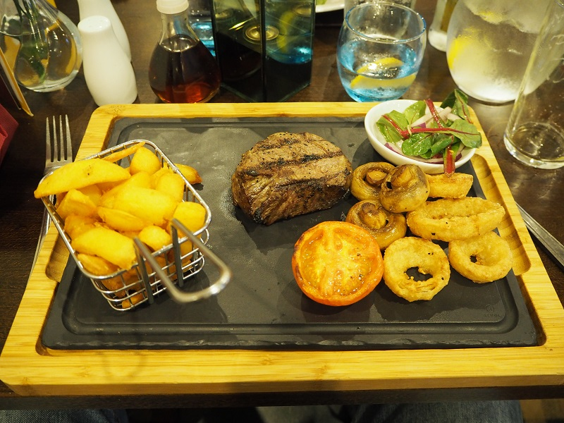 fillet steak at the Elphinstone, Biggar