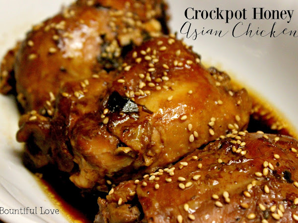Crockpot Asian Honey Chicken
