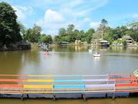 Objek Wisata Waduk Panji Sukarame Kalimantan Timur