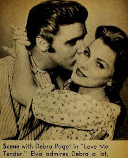 Debra Paget Elvis Presley