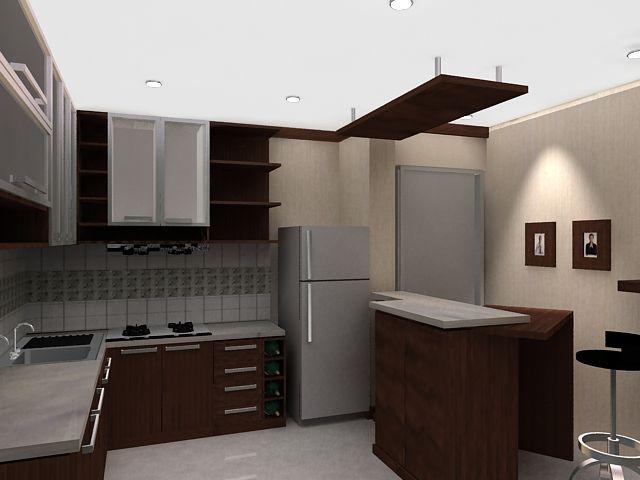 Tata Ruang Dapur Yang Sederhana