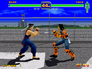 Play Retro Games Online: Fighters Megamix Saturn