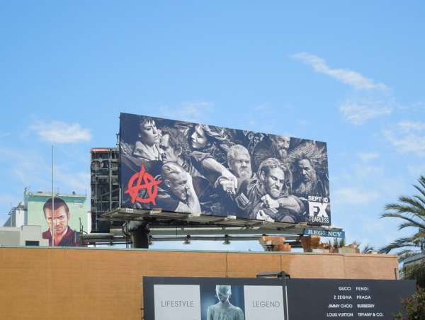 Sons of Anarchy series 6 billboard