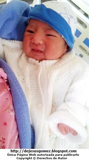 Foto de un bebé hombre recién nacido por Jesus Gómez