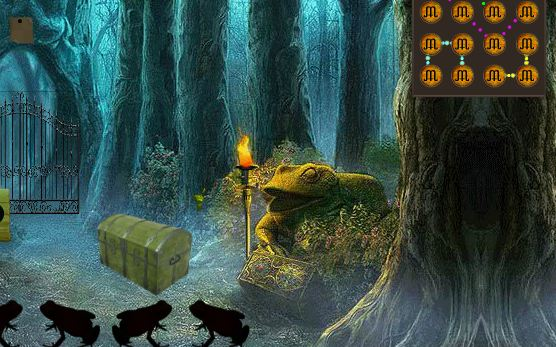 Play 8bGames Frog Forest Escap…