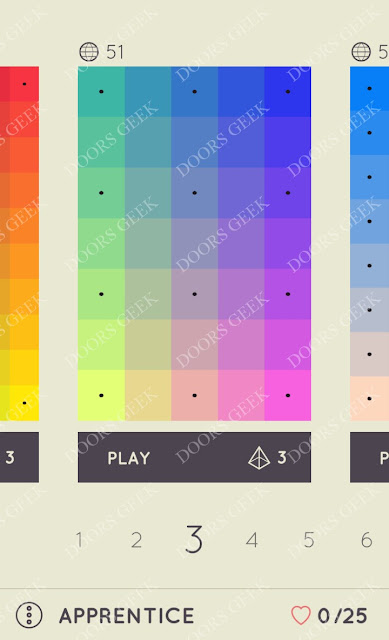 I Love Hue Apprentice Level 3 Solution, Cheats, Walkthrough