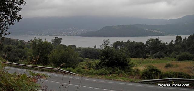 Caminho de Santiago entre Redondela e Pontesampaio