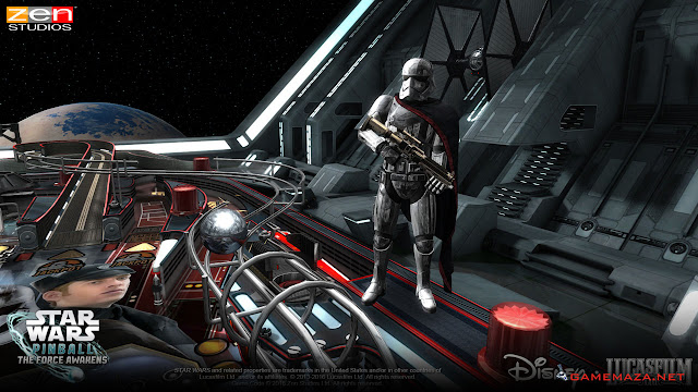 Star Wars Pinball The Force Awakens Gameplay Screenshot 2