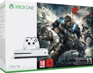 Xbox One S - 1TB Gears of War 4 Bundle