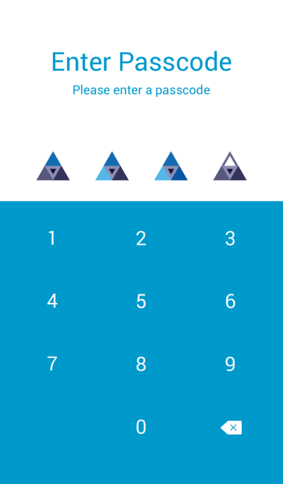 triangle ocean-blue-