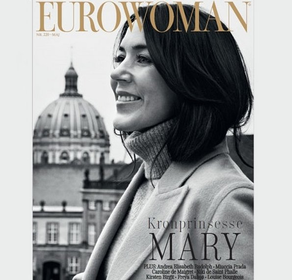 Danish Fashion Magazine Euro Woman made a special interview with Crown Princess Mary of Denmark on the occasion of Women Deliver Conference