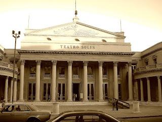 O Belo Teatro Solis, no Centro de Montevidéu