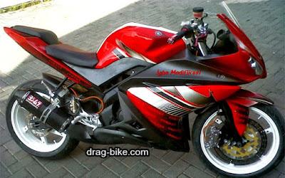 70 Foto Gambar Modifikasi Motor Yamaha Vixion Full Fairing MotoGP Yang Terbaru