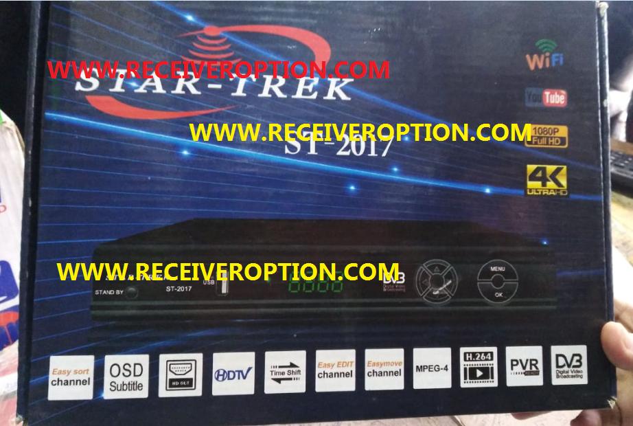 STAR TREK ST-2017 HD RECEIVER POWERVU KEY NEW SOFTWARE - HOW